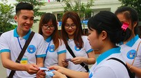 Sinh viên Đại học Vinh sang Lào làm tình nguyện