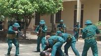 Diễn tập chiến đấu phòng thủ tại Thu Thủy