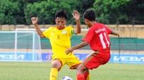 Vòng chung kết U13 quốc gia: U13 SLNA đặt 1 chân vào vòng tứ kết