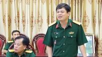 Khối Nội chính tỉnh Bắc Kạn học tập và nghiên cứu tại Bộ CHQS Nghệ An