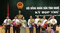 Chủ tịch UBND huyện Tân Kỳ được bầu làm Chánh Văn phòng HĐND tỉnh