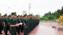 Tuổi trẻ BĐBP Nghệ An báo công tại Quảng trường Hồ Chí Minh