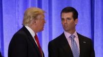Con trai Tổng thống Mỹ thừa nhận mong muốn thông tin về bà Clinton từ Nga