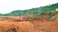 Các mỏ khoáng sản ngừng hoạt động ở Quế Phong vẫn chưa hoàn thành công tác hoàn thổ
