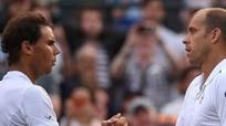 Vòng 4 Wimbledon: Bất ngờ Gilles Mulle hạ Nadal