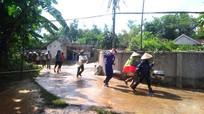 Anh Sơn: Hàng trăm người dân 'chạy nạn' trong phương án diễn tập