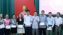 Đảng ủy Khối các cơ quan tỉnh bế giảng lớp nhận thức về Đảng