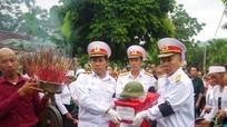 Bộ Chỉ huy Quân sự tỉnh bàn giao hài cốt liệt sỹ về các địa phương