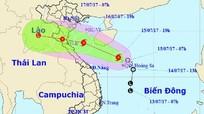 Bão số 2 hướng vào Nghệ An, gây mưa lớn, sức gió giật cấp 9-10