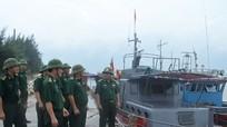 BĐBP tỉnh: 100% quân số sẵn sàng ứng phó bão số 2