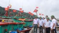 100% tàu thuyền Nghệ An đã về nơi tránh trú bão an toàn