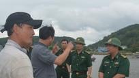 BĐBP tỉnh cứu đoàn cán bộ Khí tượng thuỷ văn gặp nạn trên biển