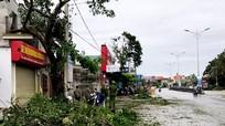 Bão số 2 làm chết người tại thị xã Hoàng Mai (Nghệ An)
