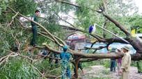Lực lượng vũ trang tham gia khắc phục hậu quả cơn bão số 2