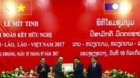 Chủ tịch UBND tỉnh dự lễ kỷ niệm 55 năm thiết lập quan hệ ngoại giao Việt Nam - Lào
