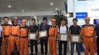 Đưa 4 thuyền viên Nghệ An bị nạn tại vùng biển Nam Phi về nước an toàn
