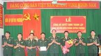Thành lập Đảng bộ Đồn Biên phòng Quỳnh Phương