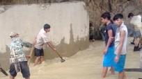 Khẩn trương khắc phục các công trình thủy lợi bị sạt lở