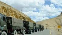 Trung Quốc đưa nhiều thiết bị quân sự đến gần biên giới với Ấn Độ