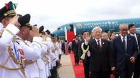 Hình ảnh Tổng Bí thư  thăm cấp Nhà nước Campuchia