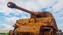 Kỳ tích: Chìm dưới nước 72 năm, xe tăng Sherman vẫn nguyên vẹn
