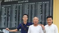 Cụ ông 85 tuổi nhiệt tâm với công việc chăm sóc tượng đài chiến thắng