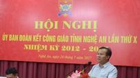 Sôi nổi các hoạt động thi đua yêu nước trong cộng đoàn giáo dân Nghệ An