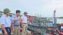 Diễn Châu: 100% tàu thuyền về nơi trú bão an toàn