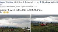 Người tung tin máy bay rơi ở Nội Bài sẽ bị phạt 10-20 triệu đồng