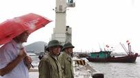 Nghệ An: 100% tàu thuyền đã neo đậu tránh trú bão số 4