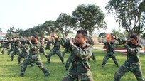 Sơ kết nhiệm vụ huấn luyện và xây dựng công trình chiến đấu