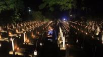 Thành kính, thiêng liêng đêm tri ân ở Nghĩa trang Quốc tế Việt - Lào