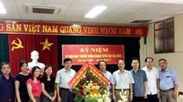 Lãnh đạo thị xã Cửa Lò chúc mừng Ban Tuyên giáo Tỉnh ủy
