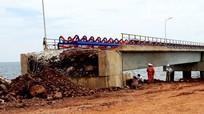 Cầu cho tàu 70.000 tấn ở Nghệ An mất 2 tháng khắc phục sau bão