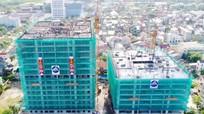 Cất nóc Tòa nhà CT1 cao 16 tầng dự án chung cư Arita Home tại TP Vinh