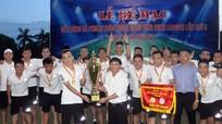 FC Á Đông vô địch Giải bóng đá phong trào Ngoại hạng Vinh
