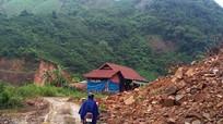 Nhiều điểm sạt lở nghiêm trọng trên tuyến đường Yên Tĩnh - Hữu Khuông