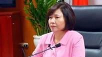 Thứ trưởng Hồ Thị Kim Thoa xin nghỉ việc - Bộ Công Thương nói gì?