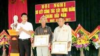 Nghi Yên (Nghi Lộc) trao tặng Huy hiệu Đảng cho 38 đảng viên