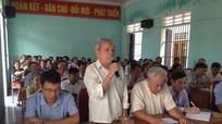 Đại biểu HĐND tỉnh tiếp xúc cử tri tại Quỳ Hợp