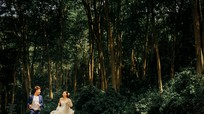 Cặp đôi 9X chụp ảnh cưới trong rừng săng lẻ đẹp nhất Nghệ An