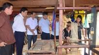 Bí thư Tỉnh uỷ Nguyễn Đắc Vinh thăm Làng Hữu nghị thanh niên biên giới Lào - Việt