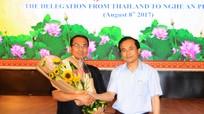 Gần 60 doanh nghiệp Thái Lan đến Nghệ An khảo sát đầu tư