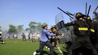 Nghệ An: Diễn tập thực binh xử lý bạo loạn, khủng bố
