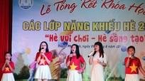 Sôi động 'Hè vui chơi - Hè sáng tạo' ở Trung tâm GDTX Nghệ An