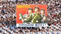 Biển người Triều Tiên phản đối lệnh trừng phạt của Liên Hợp quốc