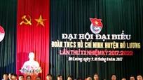 Huyện đoàn Đô Lương Đại hội nhiệm kỳ 2017 - 2022