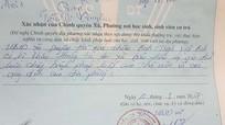 Chủ tịch xã xin lỗi công dân vì phê 'xấu' lý lịch sinh viên