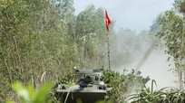 Nghệ An: Diễn tập thực binh đánh địch xâm nhập đường biển
