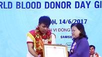 Chàng trai Tân Kỳ 36 lần hiến máu cứu người